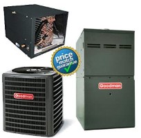 5 Ton Goodman GSX140601K CHPF4860D6D GMS81205DN SEER 14 Air Conditioner GAS FURNACE Split System