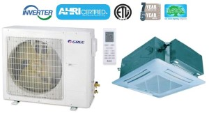 GREE UMAT18HP230V1AO UMAT18HP230V1AC 18,000 BTU SEER 16 Umatch Series Ceiling Cassette Air Conditioner Heat Pump