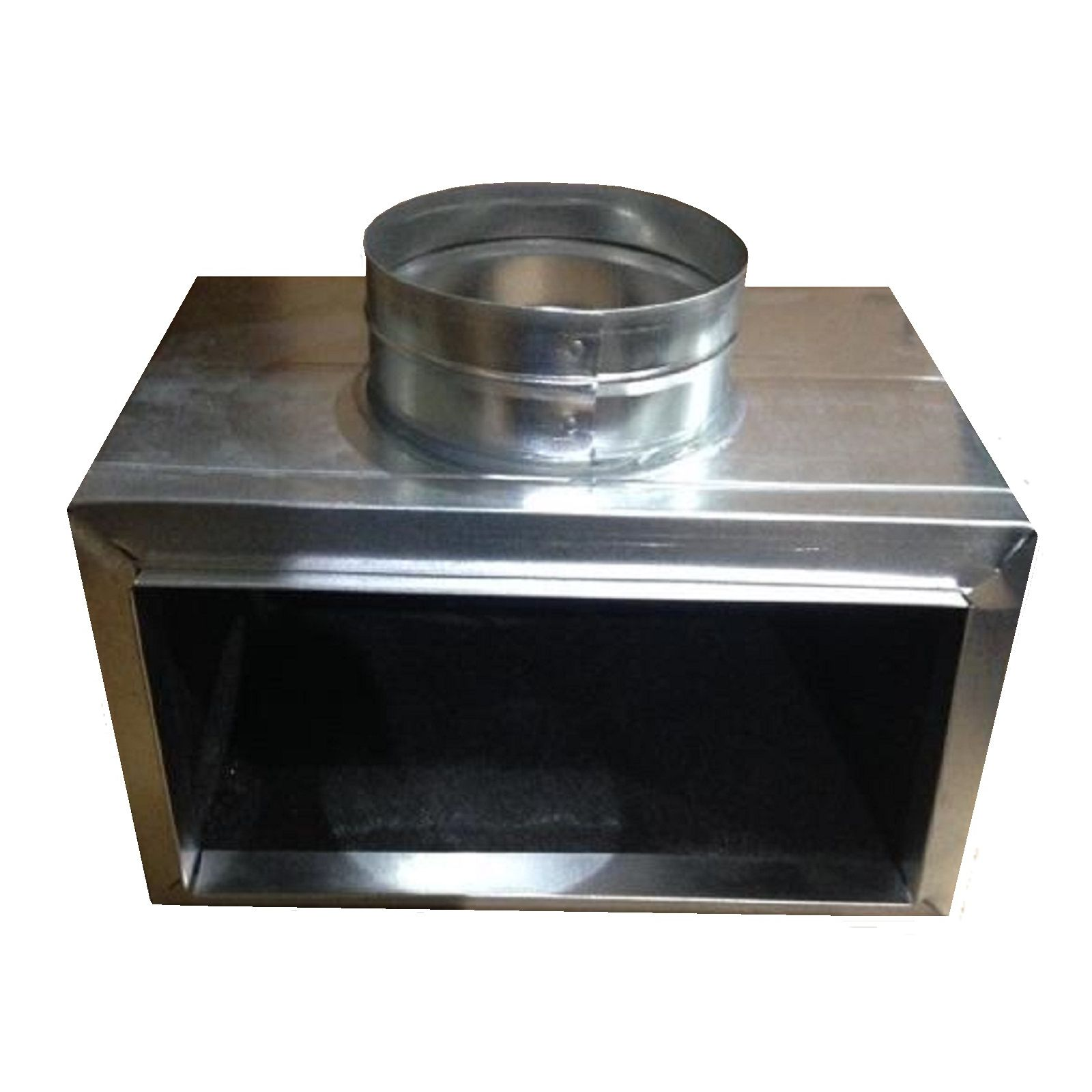 "Snap-Rite 10X06X073109NF - Side-Out Box Non-Flanged 9"" Deep, 10"" x 6"" x 7"" - R4"
