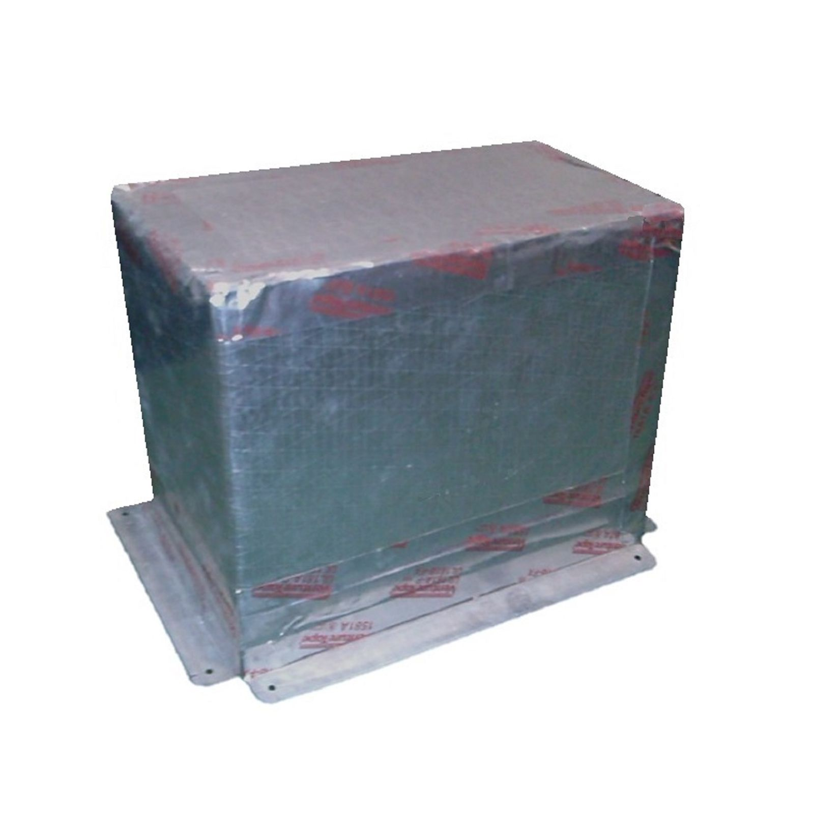 "Snap-Rite 12X06-3900F - Foil Top Register Box With Flange-9"" Deep, 12"" x 06"" - R6"