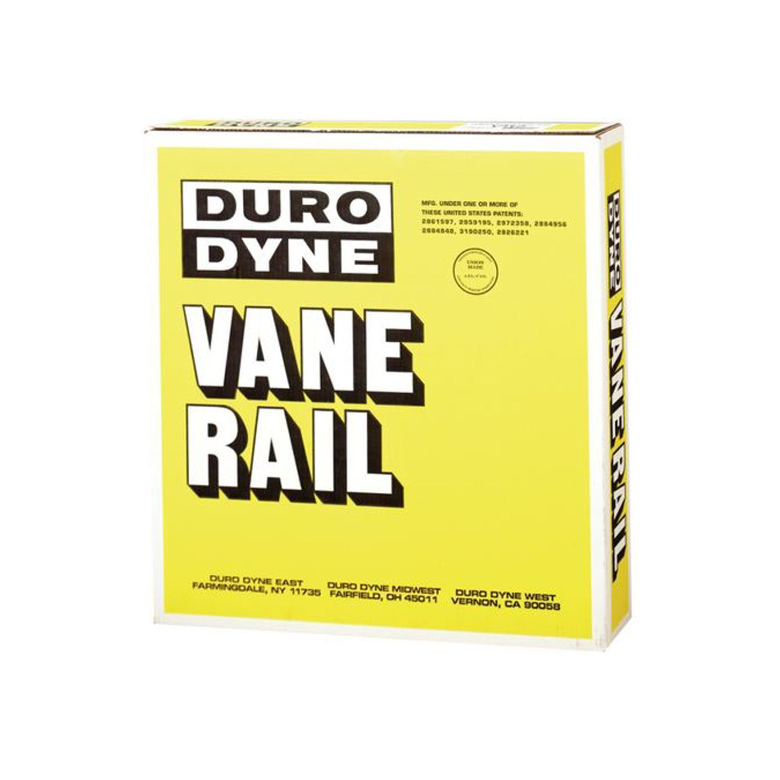 Duro Dyne 4002 -  Vane Rail With Continuous Coils, 24 Gauge, 100' Roll