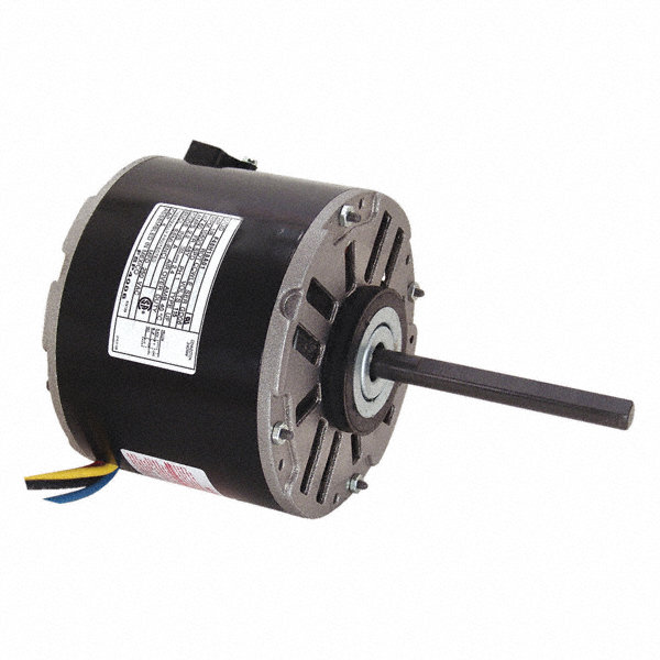 CENTURY 1/8 HP Direct Drive Blower Motor, Permanent Split Capacitor, 1050 Nameplate RPM, 115 Voltage