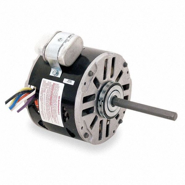 CENTURY 1/4 HP Direct Drive Blower Motor, Permanent Split Capacitor, 1050 Nameplate RPM, 115/208-230 Voltage