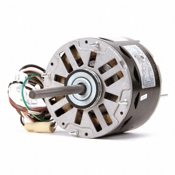 CENTURY 1/4 HP Direct Drive Blower Motor, Permanent Split Capacitor, 1075 Nameplate RPM, 208-230 Voltage