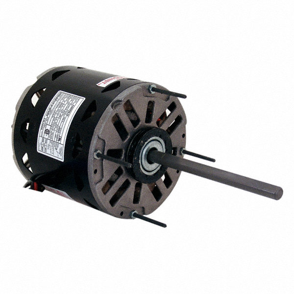 CENTURY 1/3 HP Direct Drive Blower Motor, Permanent Split Capacitor, 1625 Nameplate RPM, 208-230 Voltage