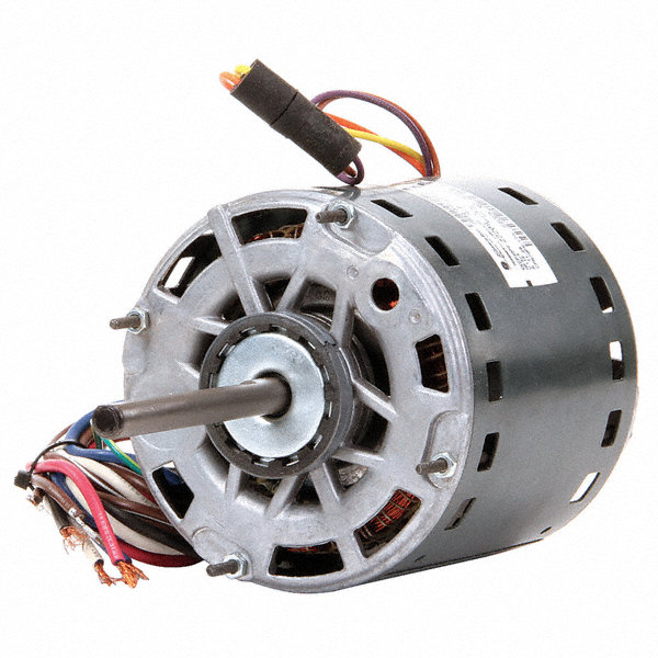 GENTEQ 3/4 HP Direct Drive Blower Motor, Permanent Split Capacitor, 1075 Nameplate RPM, 115 Voltage