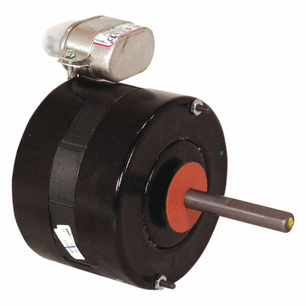 CENTURY 1/8 HP Condenser Fan Motor, Permanent Split Capacitor, 1550 Nameplate RPM, 208-230 Voltage