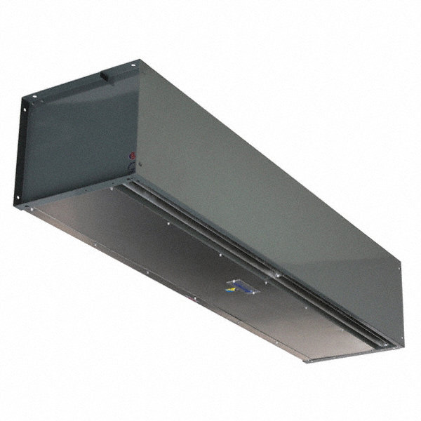 BERNER Air Curtain, 15 ft. Max. Door Width, 12 ft. Max. Mount Ht., 72 dBA @ 10 Feet, 5550 fpm