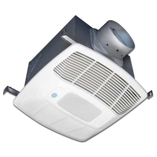 Air King EF130SG 130 CFM 0.3 Sones Single Speed Motion Sensing Exhaust Fan with CFL Light and Energy Star Rating from the Eco