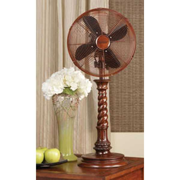 25' Roman Candlestick Style Oscillating Indoor Table Top Fan