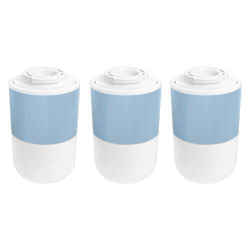 Replacement Water Filter Cartridge for Amana DRS2362AW Refrigerator - (3 Pack)