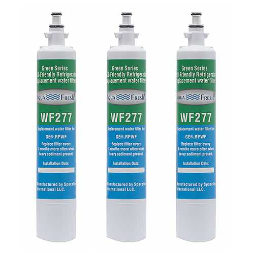 Aqua Fresh Replacement Water Filter Cartridge for GE GFE28HMHES - (3 Pack)