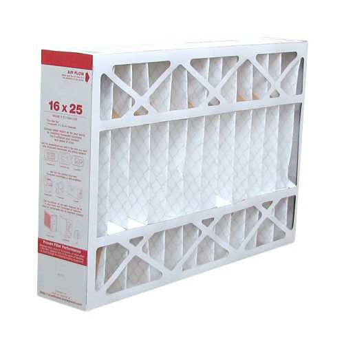Replacement Pleated Air Filter for For Honeywell CF200A1008 Furnace 16x25x4 MERV 11