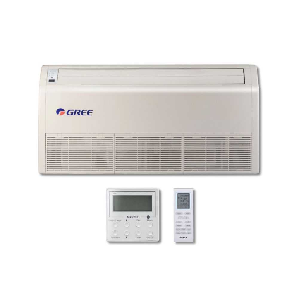 Gree MULTI42CFLR209 - 42,000 BTU Multi21+ Dual-Zone Floor/Ceiling Mini Split Air Conditioner Heat Pump 208-230V (24-24)