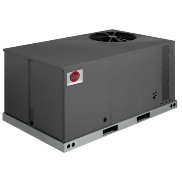 Rheem RLPL-A060CL000 - 5 Ton 14 SEER Commercial Classic Package Air Conditioning Unit, Belt Drive, No Heat, 208-230/3/60