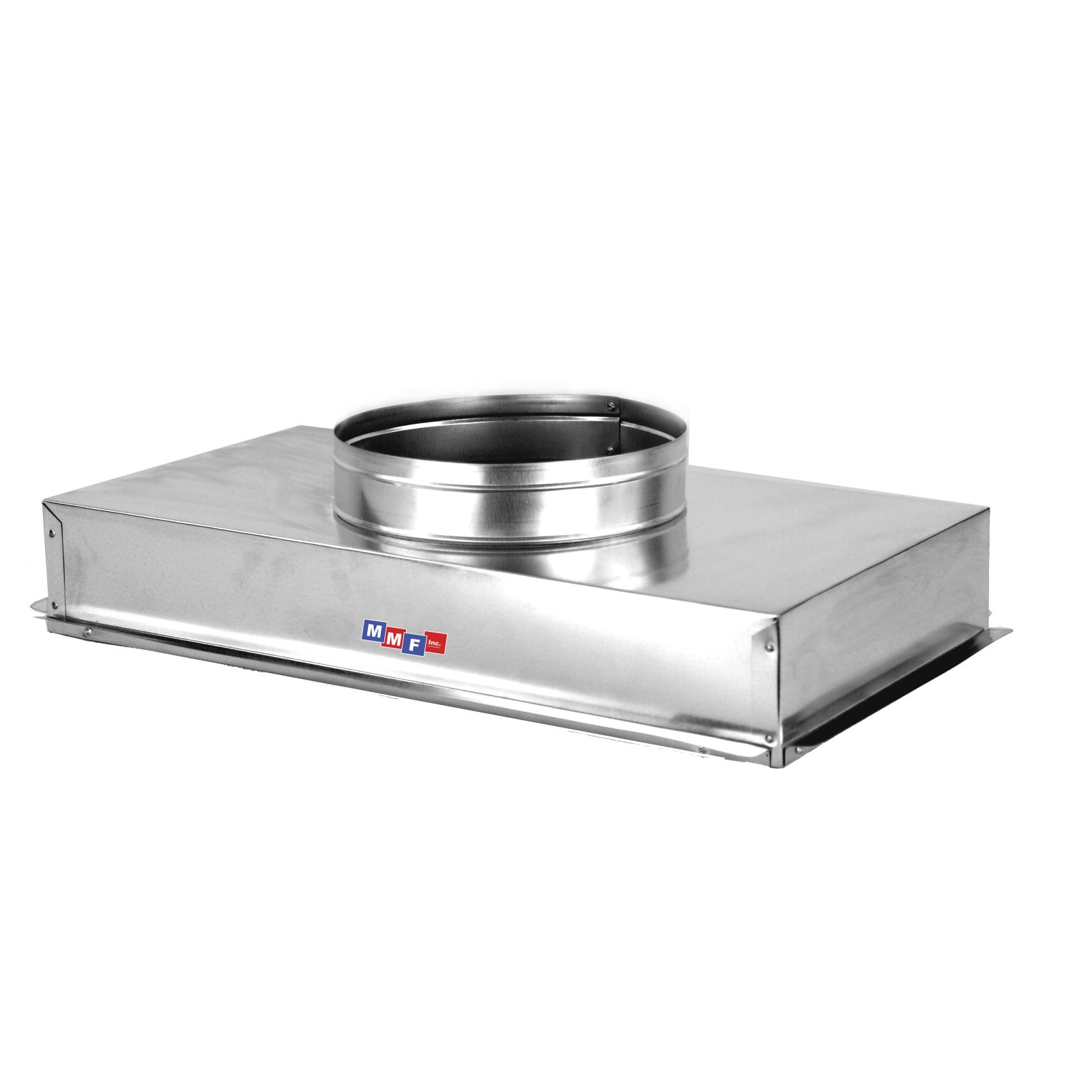 "Modular Metal ACRI2414HS - Return Air Can - 26 Ga - Seal All Seams 24 1/4"" X 14 1/4"" Uninsulated - 6"" High"