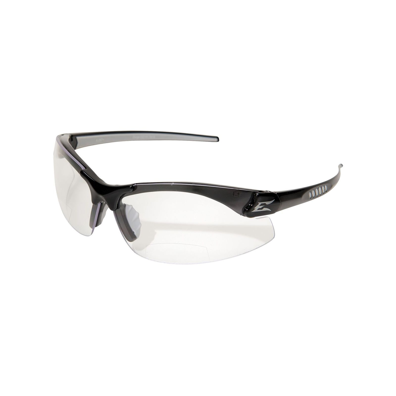 Wolf Peak DZ111-2.0 -   Safety Glasses - Zorge Magnifier- Black/Clear Lens - 2.0 Magnification