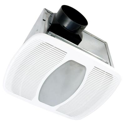 Deluxe Quiet 50 CFM Ceiling Exhaust Fan with Fluorescent Light