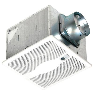 130 CFM Ceiling Single Speed Motion Sensing Exhaust Fan