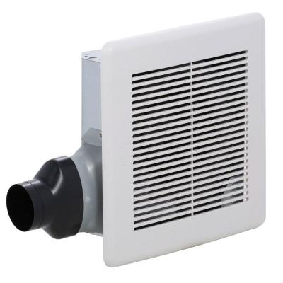 Slim 80 CFM Ceiling or Wall Exhaust Fan